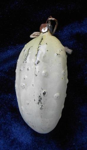 огурец игрушка для ёлки