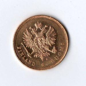 20 Марок Финляндия Российская Империя 1904 год