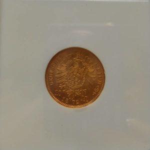 10 марок NGC 1872 год