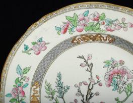 Тарелка Минтон 1870 год Англия