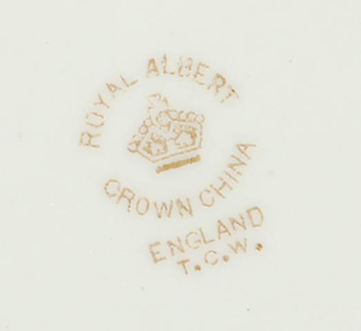 Royal Albert тарелка T.C.W