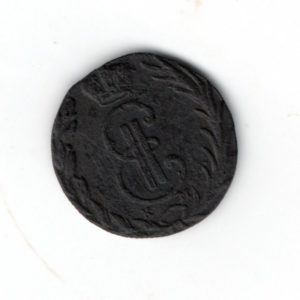 Денга 1769 год Сибирская монета