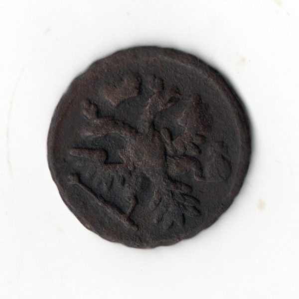 Денга 1738 медь мелочь