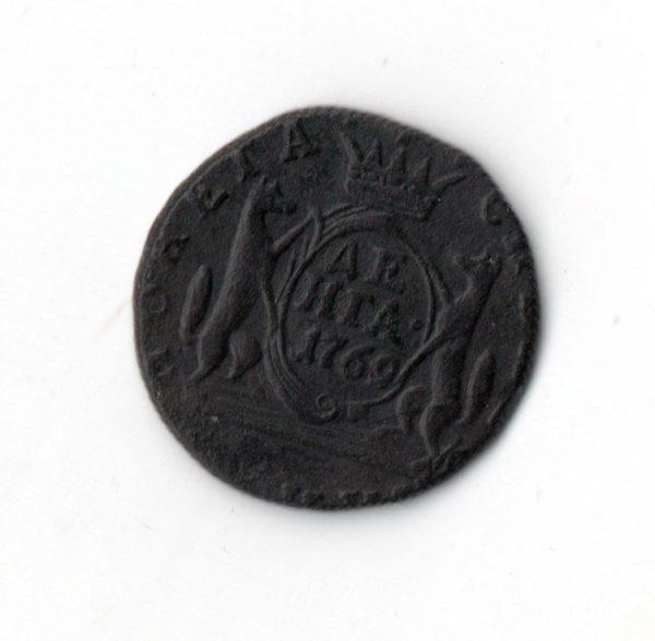 Денга 1769 год Сибирская медная