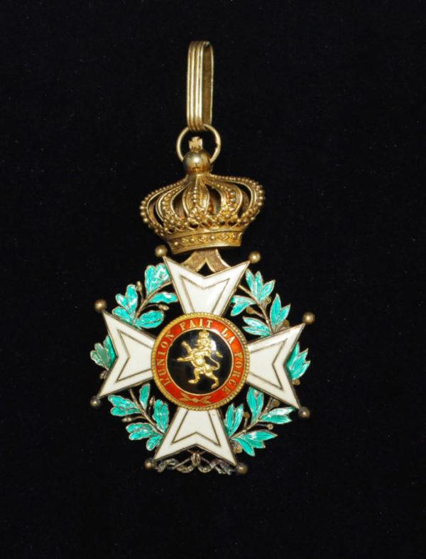 Орден Леопольда Первого награда