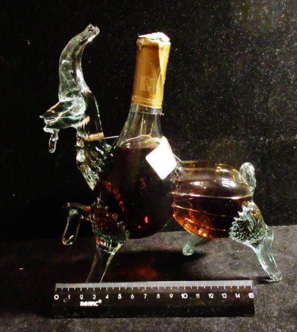коллекционная бутылка-Козел