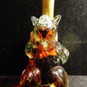 «Ведмедики» и не только бутылки-медведи коньячная бутылка