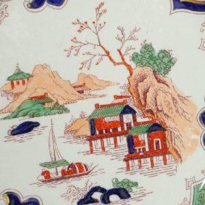Китайский мотив на английской тарелке