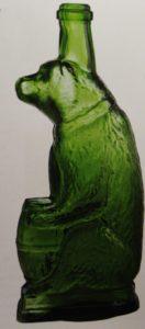 бутылки-медведи зелёные