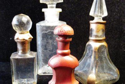 Старинные предметы тарного стекла