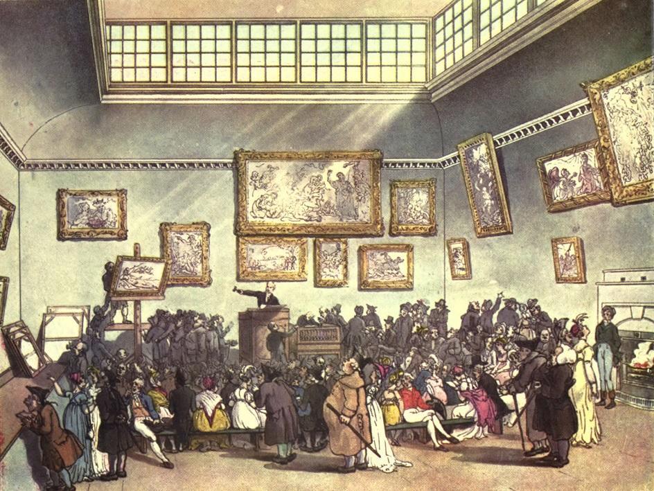 Аукцион Торговля фарфором