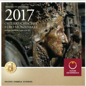 набор Евро Австрия 2017 год
